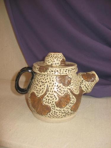 Gingko Teapot