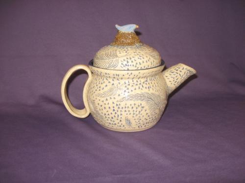 Bird in Nest Teapot