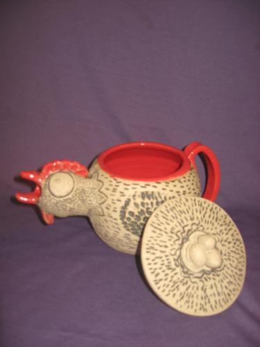 Hen Teapot