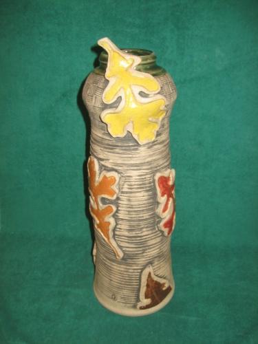 Tumbling Leaves Vase
