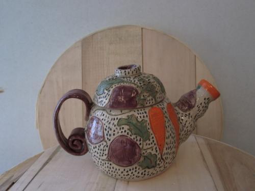 Root Vegetable Teapot