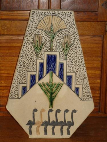 Art Deco Floor Vase